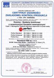 Certyfikat Kontroli Produkcji 1