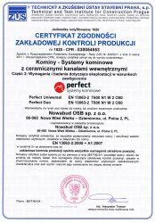 Certyfikat Kontroli Produkcji 2